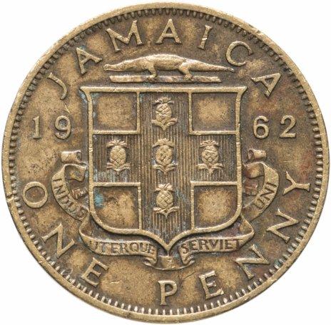 купить Ямайка 1 пенни 1962