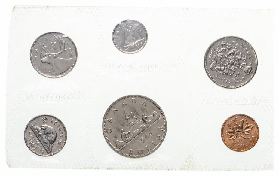 купить Канада набор монет 1969 (6монет)