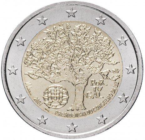 """купить Португалия 2 евро 2007 """"Председательство Португалии в Совете Европейского Союза"""""""