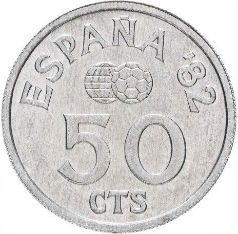 купить Испания 50 сентаво 1980