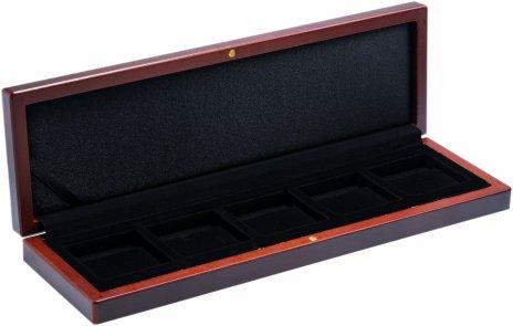 купить Подарочный деревянный бокс Leuchttrum VOLTERRA под капсулу 5 капсул QUADRUM