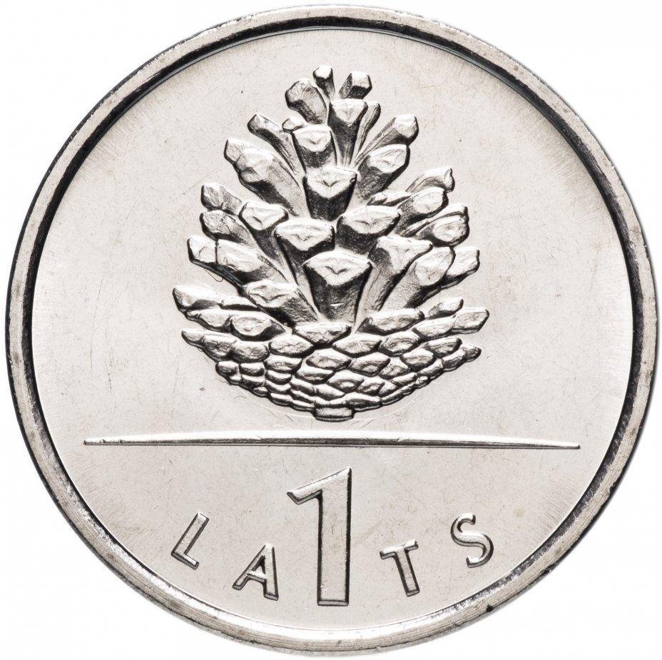 """купить Латвия 1 лат 2006 """"Шишка"""""""