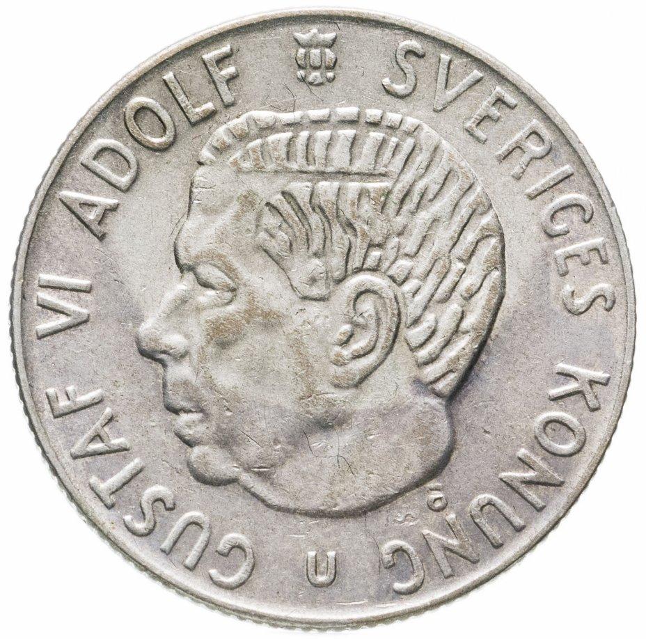 купить Швеция 1 крона (krona) 1966 U