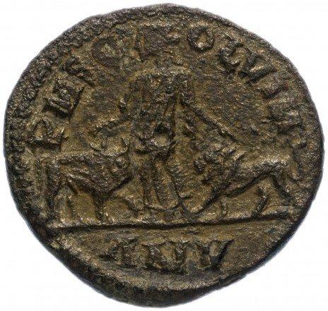 купить Римская Империя Филипп Араб 244-249гг асс (реверс: женская фигура, слева бык, справа лев)