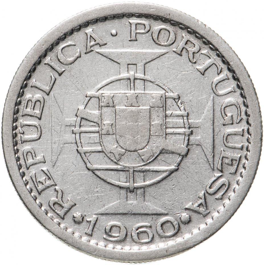 купить Португальский Мозамбик 5 эскудо (escudos) 1960