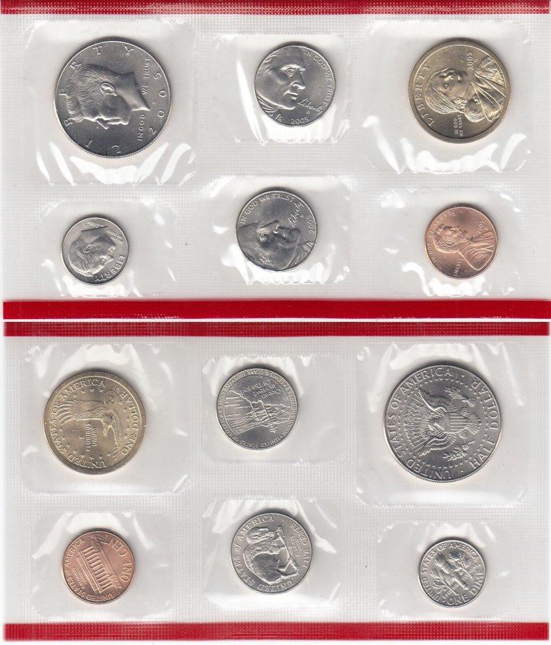 купить США годовой набор 2005 D (6 монет)