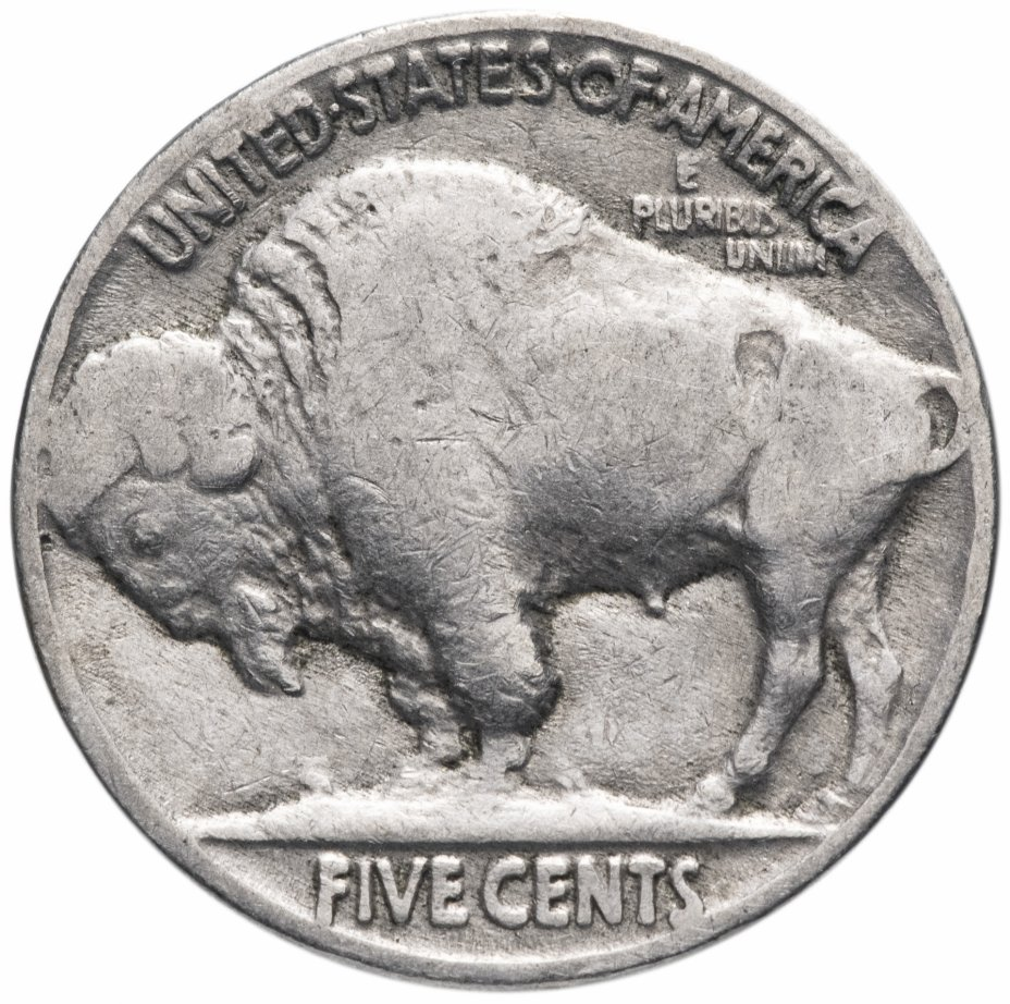 купить США 5 центов (cents) 1934 Buffalo Nickel Без отметки монетного двора