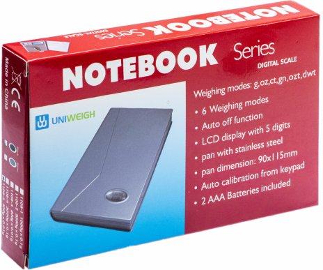 купить Весы ювелирные электронные карманные 500 г/0,01 г  (NoteBook)