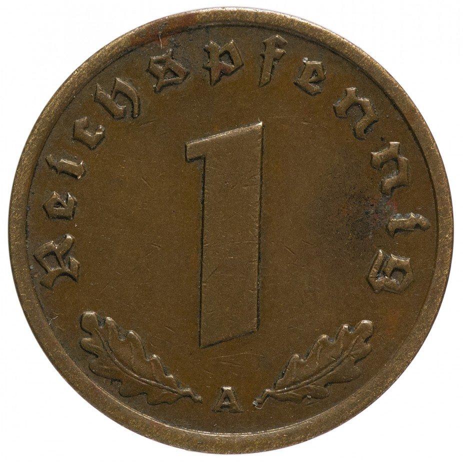 """купить Германия (Третий Рейх) 1 рейх пфенниг 1939 """"А"""""""