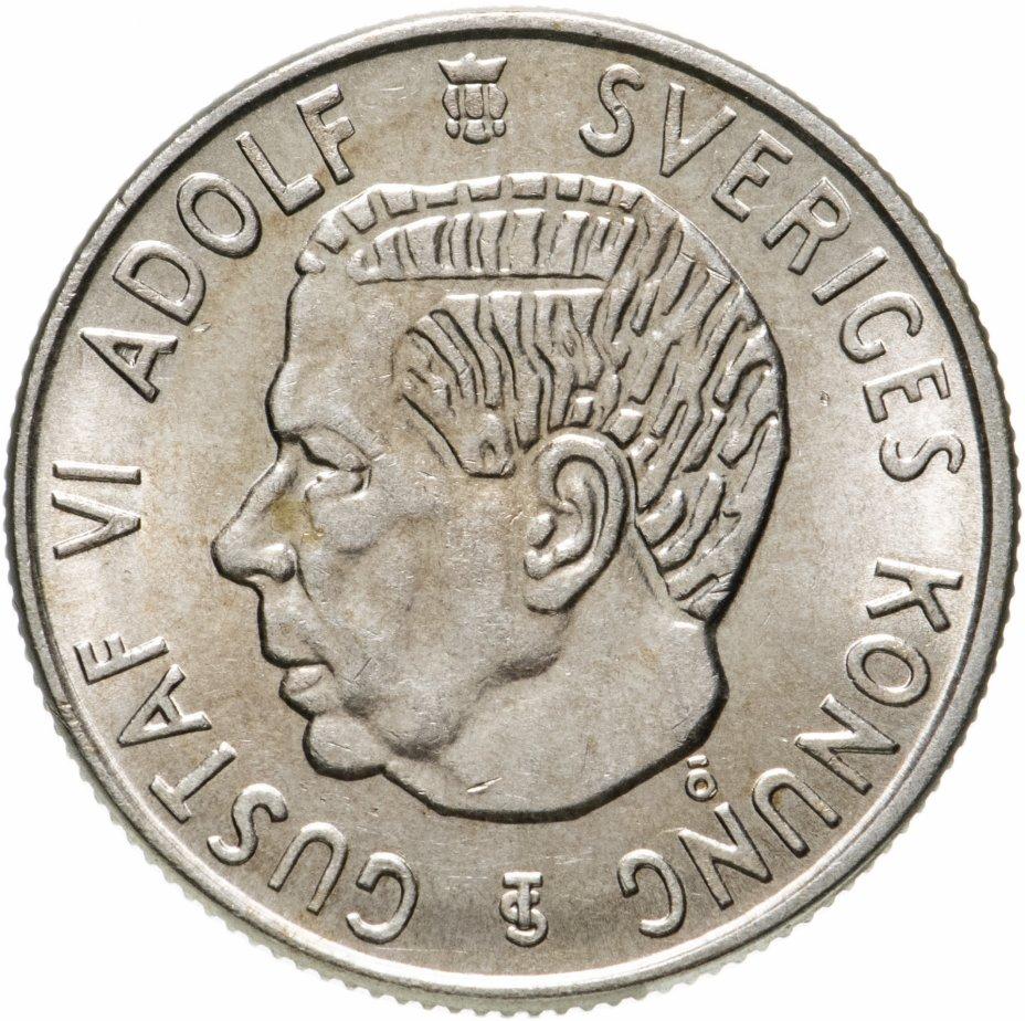 купить Швеция 2 кроны 1956
