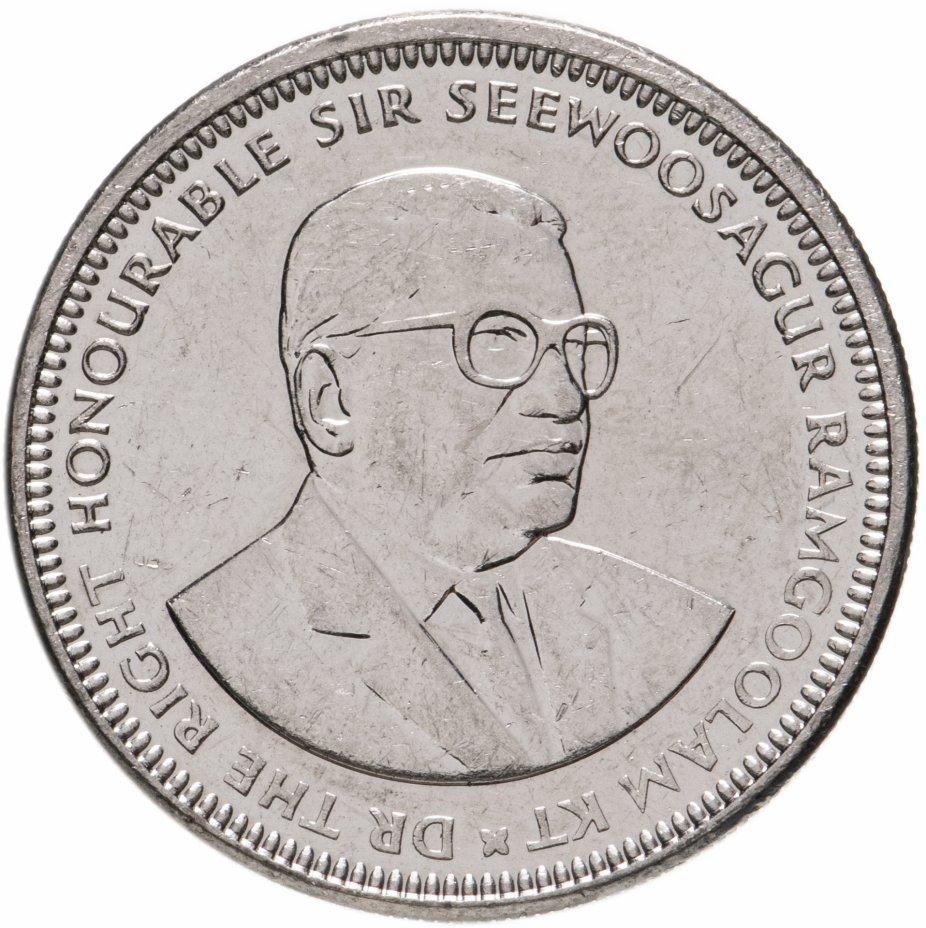 купить Маврикий 1 рупия 2012-2016, случайная дата