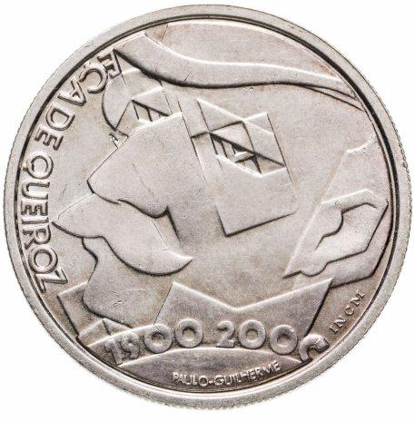купить Португалия 500 эскудо (escudos) 2000  100 лет со дня смерти Эса де Кейроша