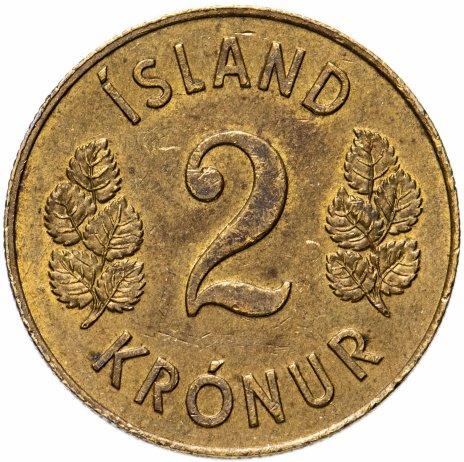 купить Исландия 2 кроны (kronur) 1958-1966, случайная дата