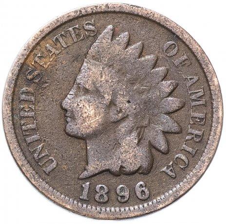 купить США 1 цент (cent) 1896 Indian Head Cent