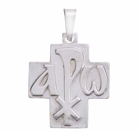 купить Кулон (подвес) в виде креста, серебро 925 пр., Западная Европа, 2000-2015 гг.