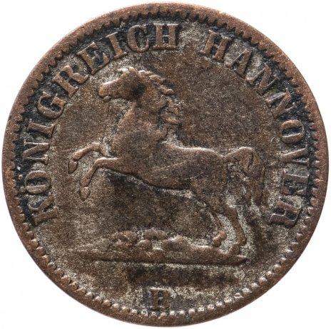 купить Ганновер (Германия) 1/2 гроша 1858