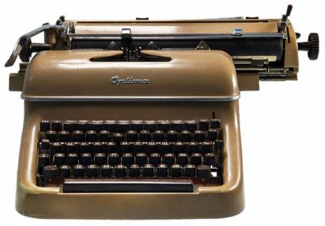 "купить Печатная машинка ""Оптима М12"", металл, фирма ""VEB Optima Büromaschinenwerke"", г. Эрфурт, ГДР, 1957-1962 гг."