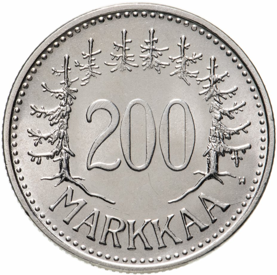 купить Финляндия 200 марок (markkaa) 1956
