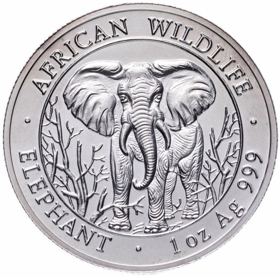 """купить Сомали 1000 шиллингов 2004 """"Африканская фауна: слон"""""""