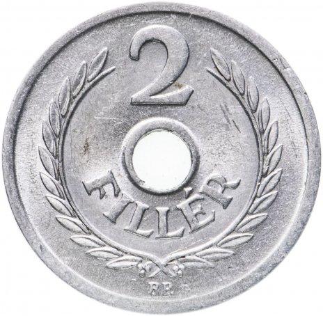 купить Венгрия 2 филлера (filler) 1953