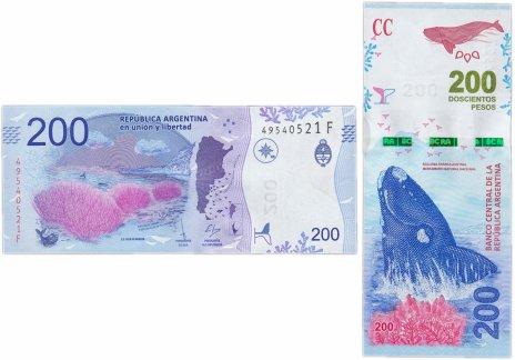 купить Аргентина 200 Песо 2016 (Pick 364a)