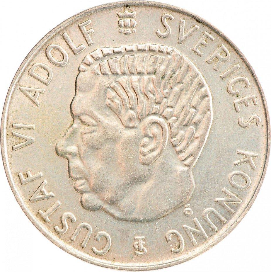 купить Швеция 5 крон 1954
