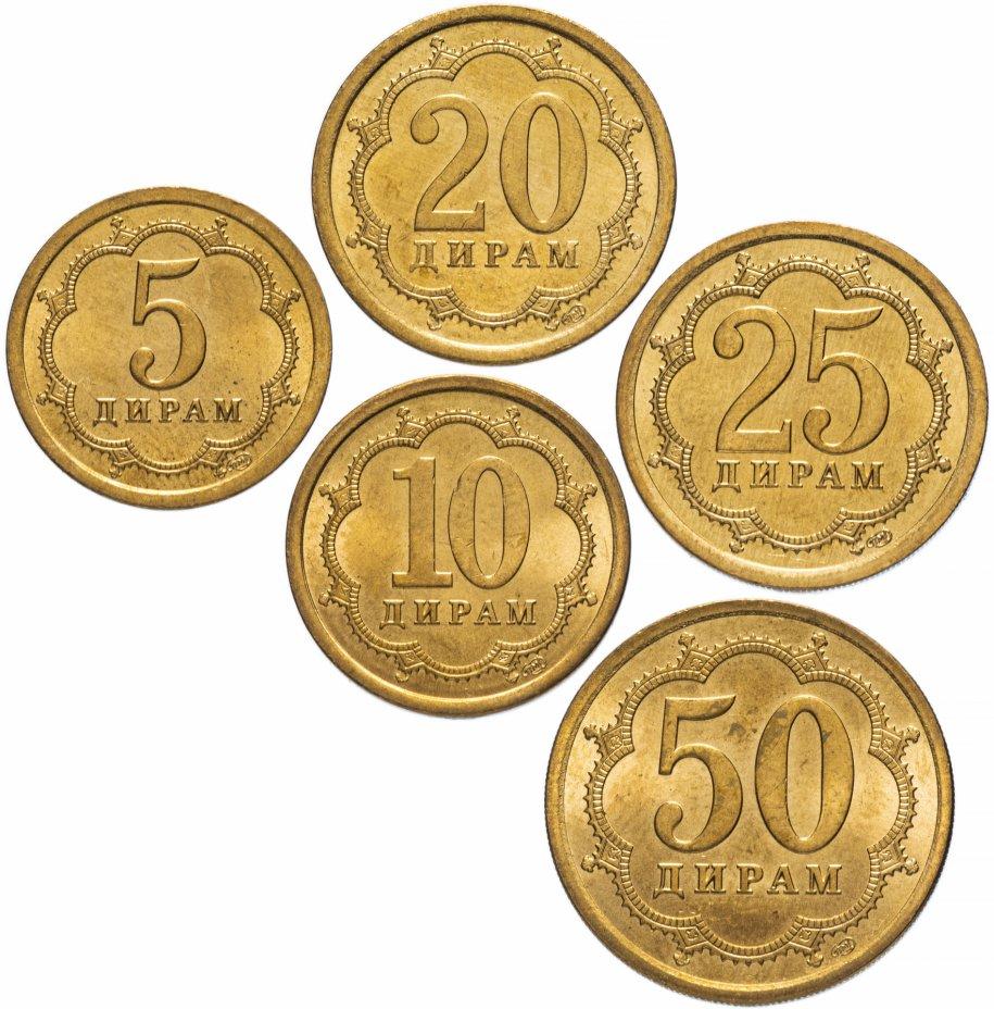 купить Таджикистан набор из 5 монет 2006
