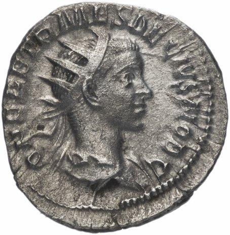 купить Римская Империя Герений Этруск 250-251 гг антониниан (реверс: кропило, жертвенный ковш, кувшин и литуус)