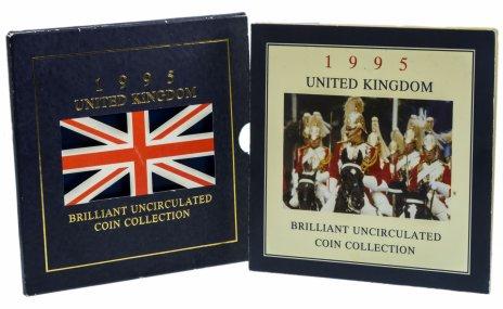 купить Великобритания годовой набор из 8 монет 1995 в буклете