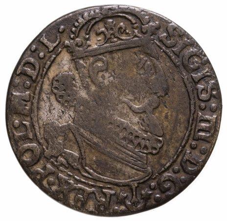 купить Речь Посполитая, 6 грошей (Шостак) 1624 года, Сигизмунд III Ваза