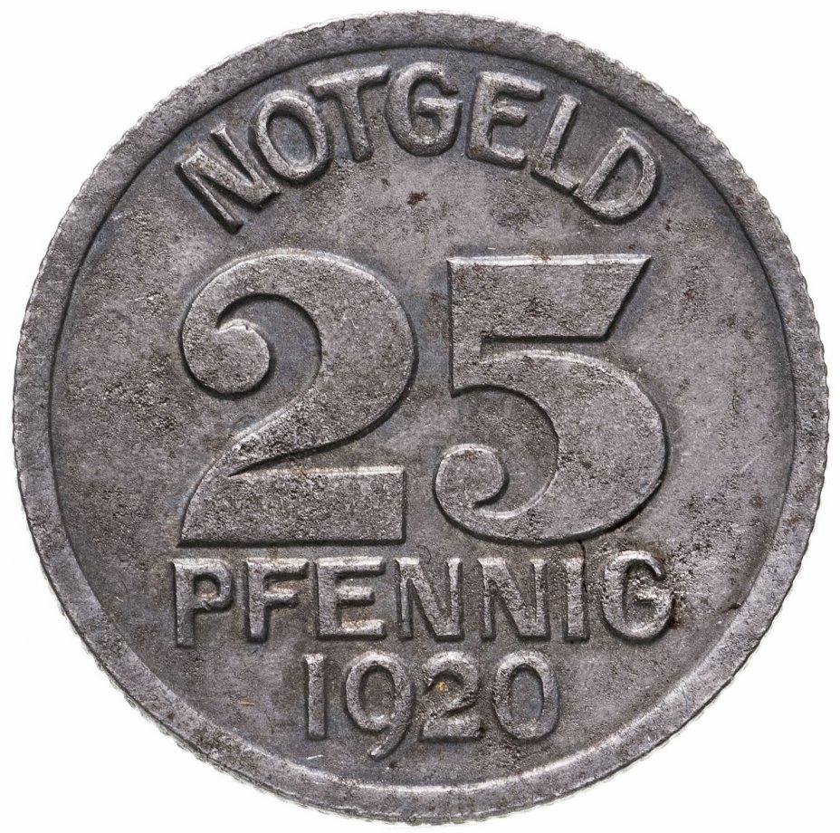 купить Германия (Варендорф), нотгельд 25 пфеннигов 1920