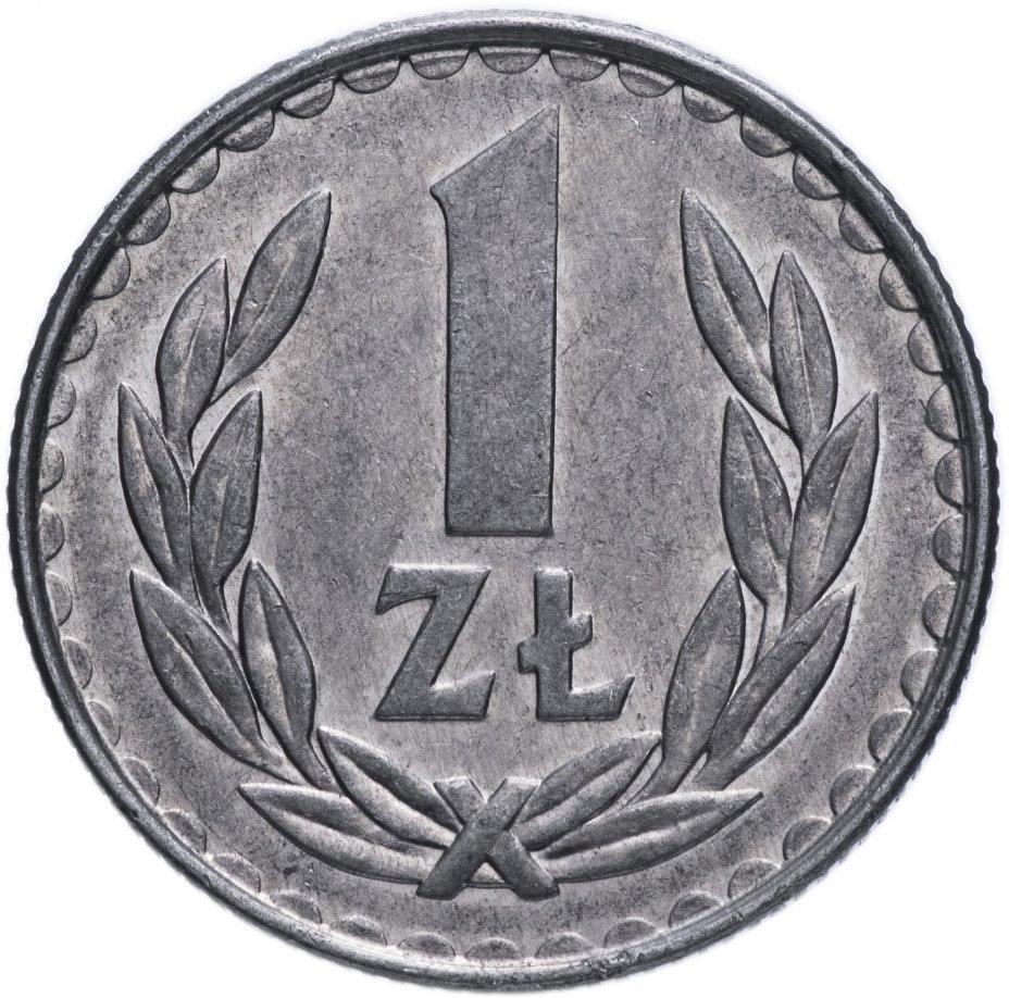купить Польша 1 злотый 1987