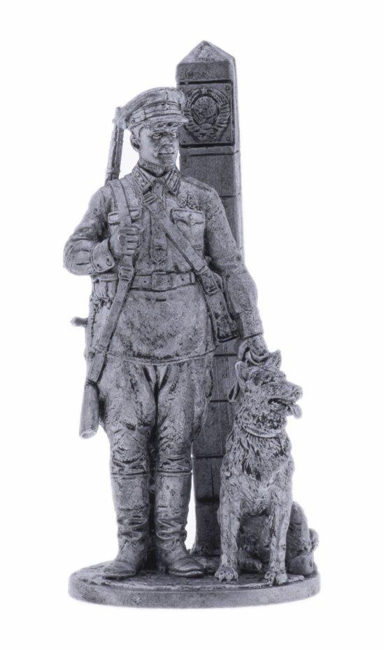 купить Оловянный солдатик, Младший сержант пограничных войск НКВД с собакой, Россия, 2021