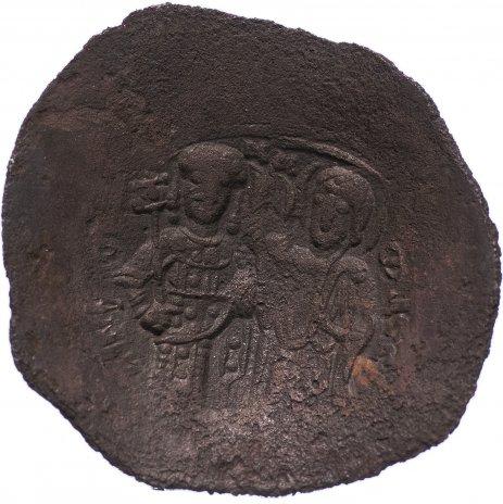 купить Византия, Мануил I Комнин 1143–1180 гг аспрон трахи, сцефатная