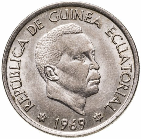 купить Экваториальная Гвинея 50 песет (pesetas) 1969