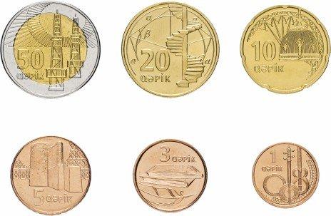 купить Азербайджан набор монет 2006 (6 штук)