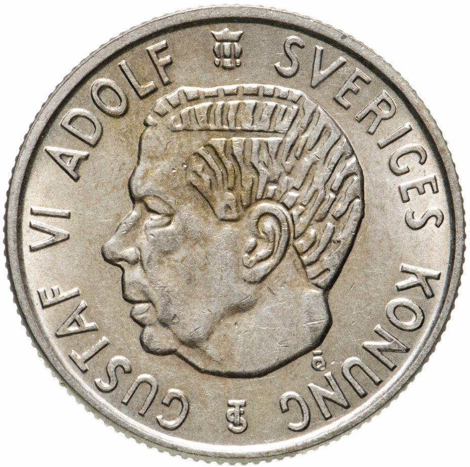 купить Швеция 2 кроны 1961