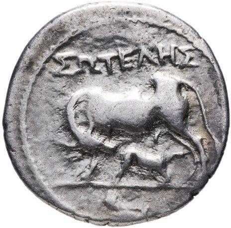 купить Иллирия, Аполлония, 200-80 годы до Р.Х., драхма.
