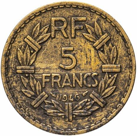 купить Франция 5 франков 1946