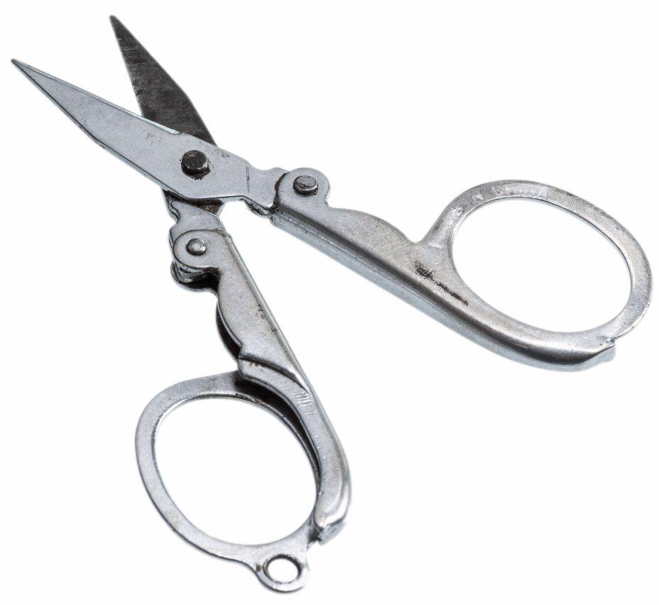 купить Антикварные  ножницы, походные, складные