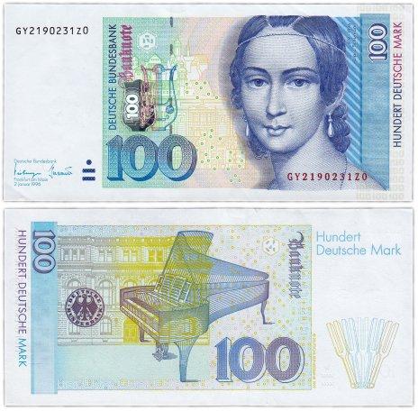 купить Германия ФРГ 100 марок 1996 (Pick 46)