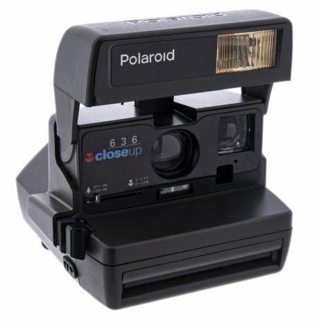"""купить Фотоаппарат """"Polaroid 636 Closeup Instant camera"""" в оригинальной коробке, пластик, Великобритания, 1980-1990 гг."""