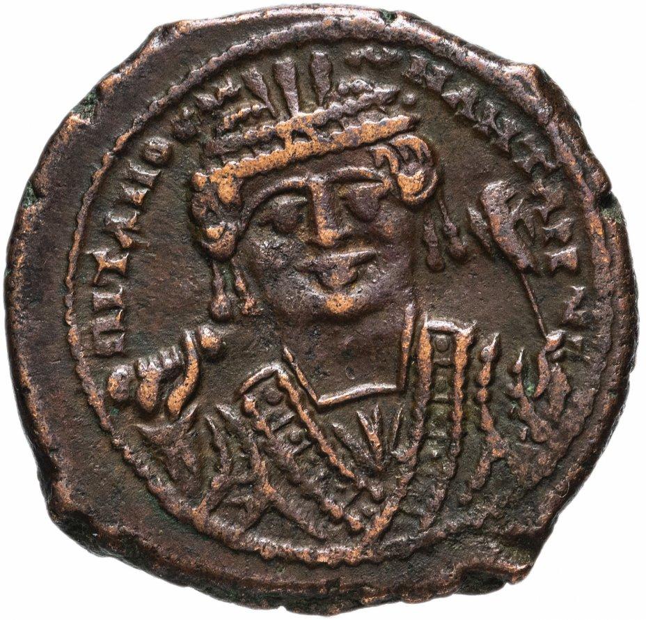 купить Византийская империя, Тиберий Константин, 578-582 годы, фоллис.