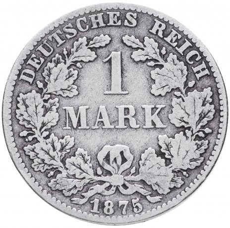 """купить Германия 1 рейх марка 1875 """"В"""""""