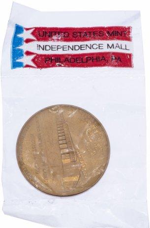 """купить Медаль настольная """"Монетный двор США. 14 августа 1969"""" в запайке, бронза, США, 1969 г."""