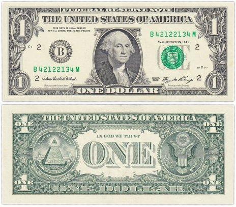 купить США 1 доллар 2006 (Pick 523a) B-Нью Йорк (Western Facility)