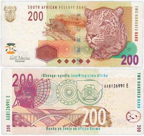 купить ЮАР 200 ранд 2010 (Pick 132b)