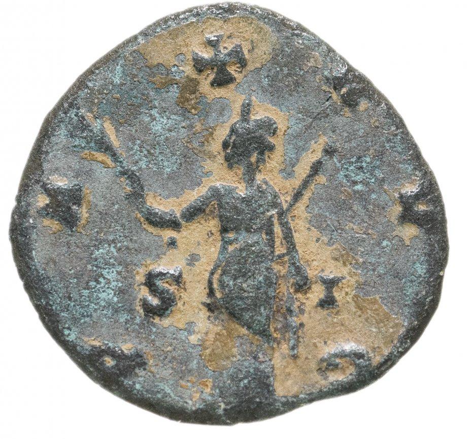 купить Римская империя, Галлиен, 253–268 годы, Антониниан.(Пация) персонификация Мира
