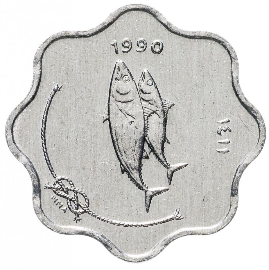 купить 5лари 1990     Мальдивы