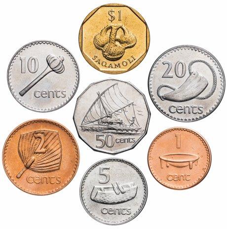 купить Фиджи набор монет 2000-2006 (7шт)